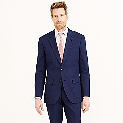 "Ludlow suit jacket in Italian ""Spinker Drill"" cotton"
