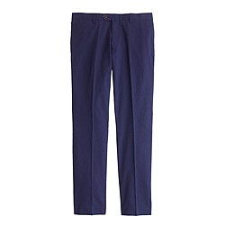 "Ludlow suit pant in Italian ""Spinker Drill"" cotton"