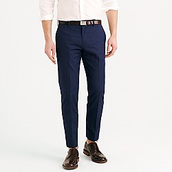 Crosby suit pant in Italian cotton piqué