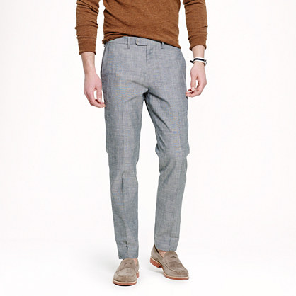 Bowery classic pant in Japanese chambray