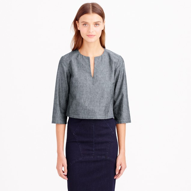 Apiece Apart™ victory cropped tunic top