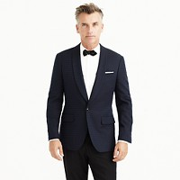 Ludlow dinner jacket in jacquard Italian cotton