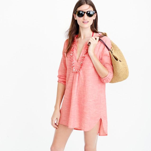 Pom-pom beach tunic