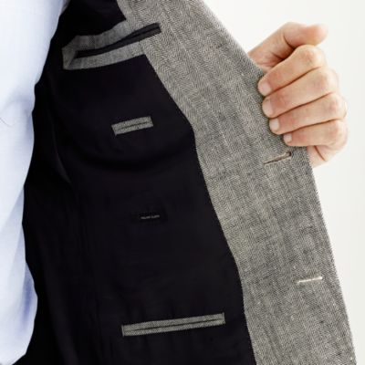 Ludlow suit jacket in herringbone Italian linen-silk : Men suits ...