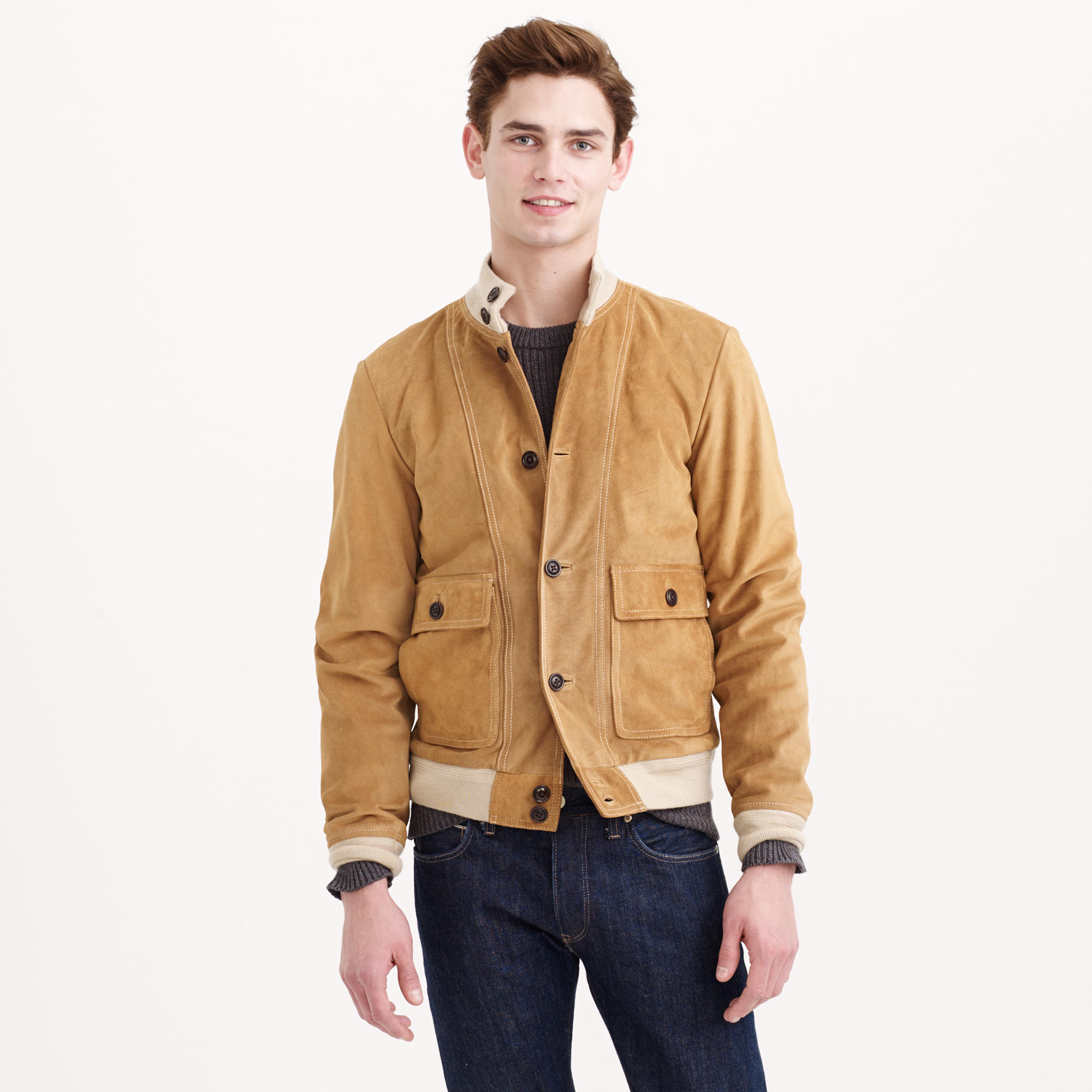 Bomber Suede Jacket | Outdoor Jacket