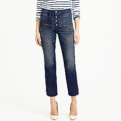 Point Sur vintage patch-pocket cropped jean