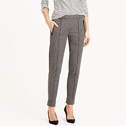 Ankle-zip pant in grey