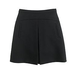 Structured mini skirt