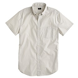 Secret Wash short-sleeve shirt in dot