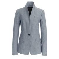 Regent blazer in chambray