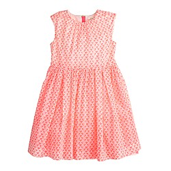 Girls' mini heart dress