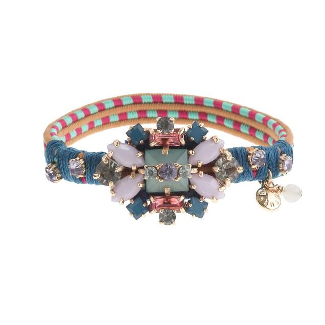 Girls' crystal bead friendship bracelet