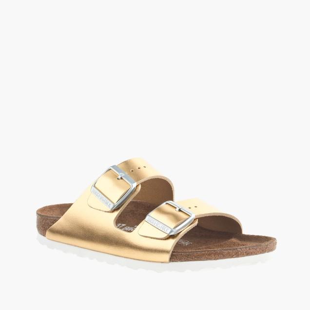 Women's Birkenstock® for J.Crew metallic Arizona sandals