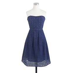 Hayley dress in organza eyelet