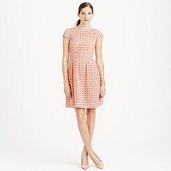 Kayla dress in organza eyelet