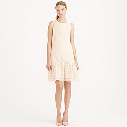 Anna dress in organza eyelet
