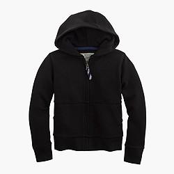 Kids' hangout zip hoodie with contrast drawcord