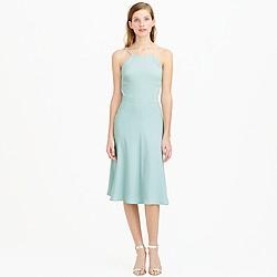 Carly dress in drapey matte crepe