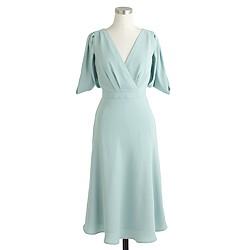 Felicity dress in drapey matte crepe