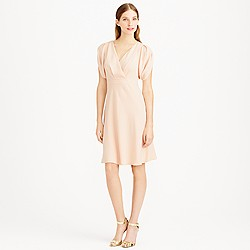 Felicity dress in drapey matte crepe