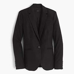 Tall Campbell blazer in pinstripe Super 120s wool