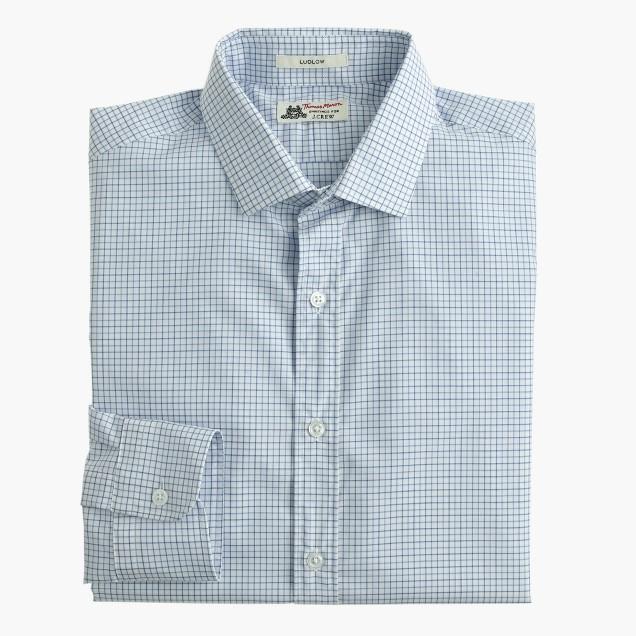 Thomas mason for j crew ludlow shirt in fresh pond for Thomas mason dress shirts