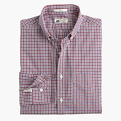 Slim Thomas Mason® for J.Crew shirt in vintage port tattersall
