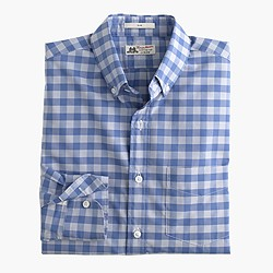 Slim Thomas Mason® for J.Crew shirt in light blue gingham