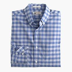 Slim Thomas Mason® for J.Crew shirt in light blue gingham