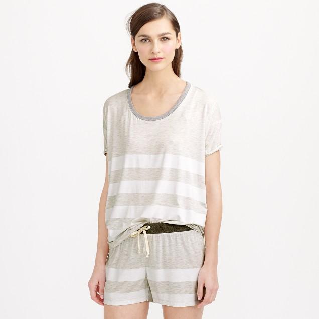 Whisper jersey pajama set