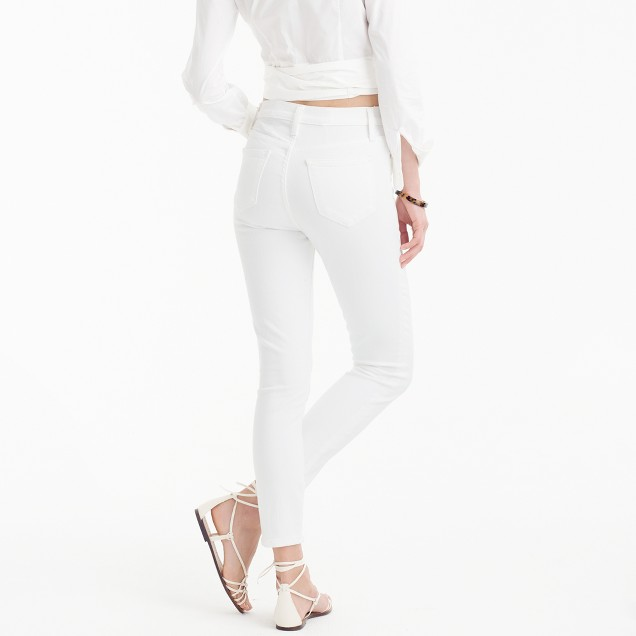 Lookout High-Rise Crop Jean In White : Women's Jeans | J.Crew