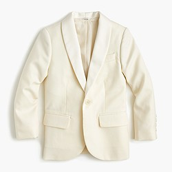 Boys' Ludlow dinner jacket in Italian wool in larger sizes