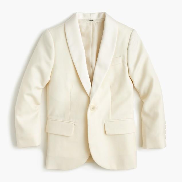 Boys' Ludlow dinner jacket in Italian wool