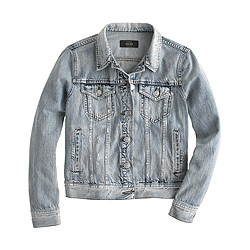 Petite denim jacket in Calyer wash