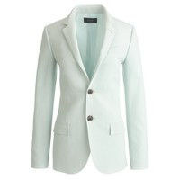 Collection women's Ludlow blazer in mint Italian wool