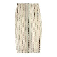 Collection stacked sequin pencil skirt