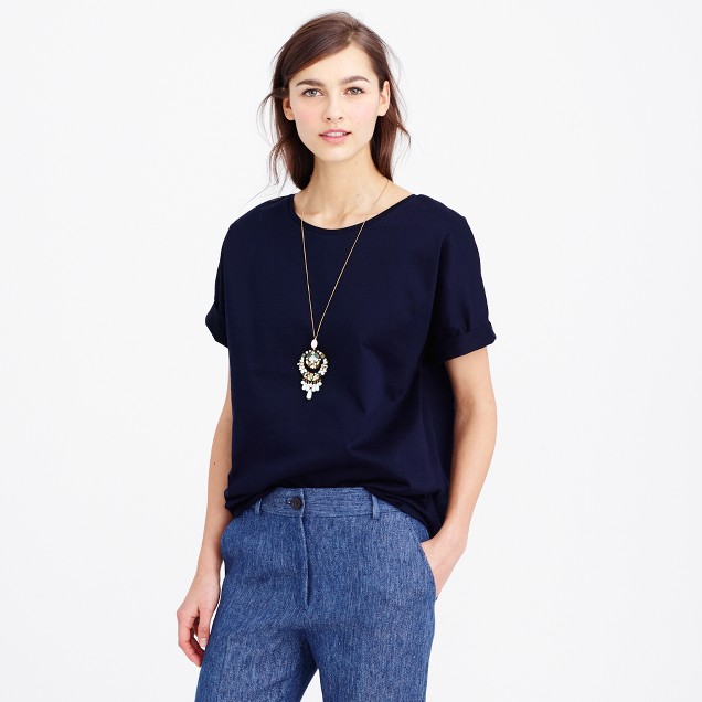 Collection double-knit T-shirt