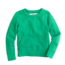 Kids' kangaroo pocket sweatshirt