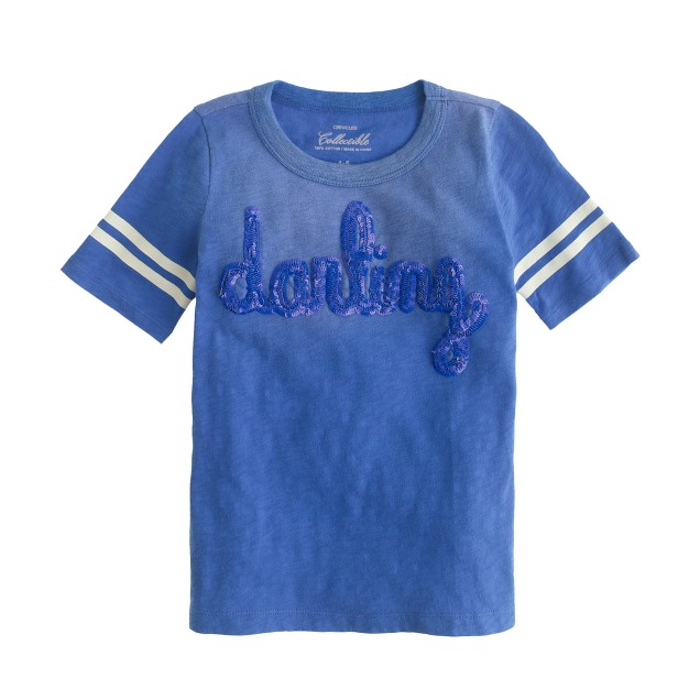 Girls' darling athletic T-shirt