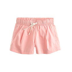 Girls' pull-on sateen short