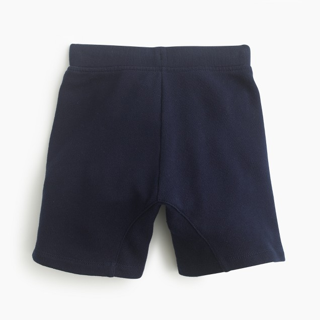 Boys' Cooper pull-on zip sweatshort