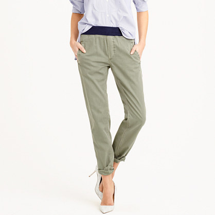 Elegant Waverly Chino  Pants  JCrew