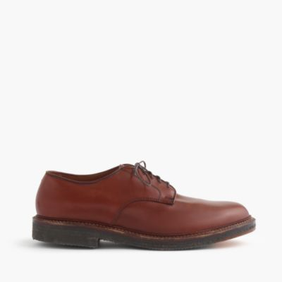 Alden® for J.Crew plain-toe plantation sole bluchers