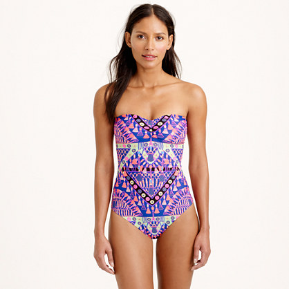 Mara Hoffman® braided-back one-piece swimsuit