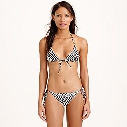 Mara Hoffman® beaded triangle bikini top
