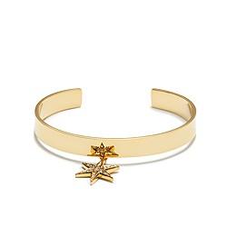 Dangling star cuff bracelet