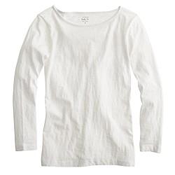 Painter boatneck T-shirt