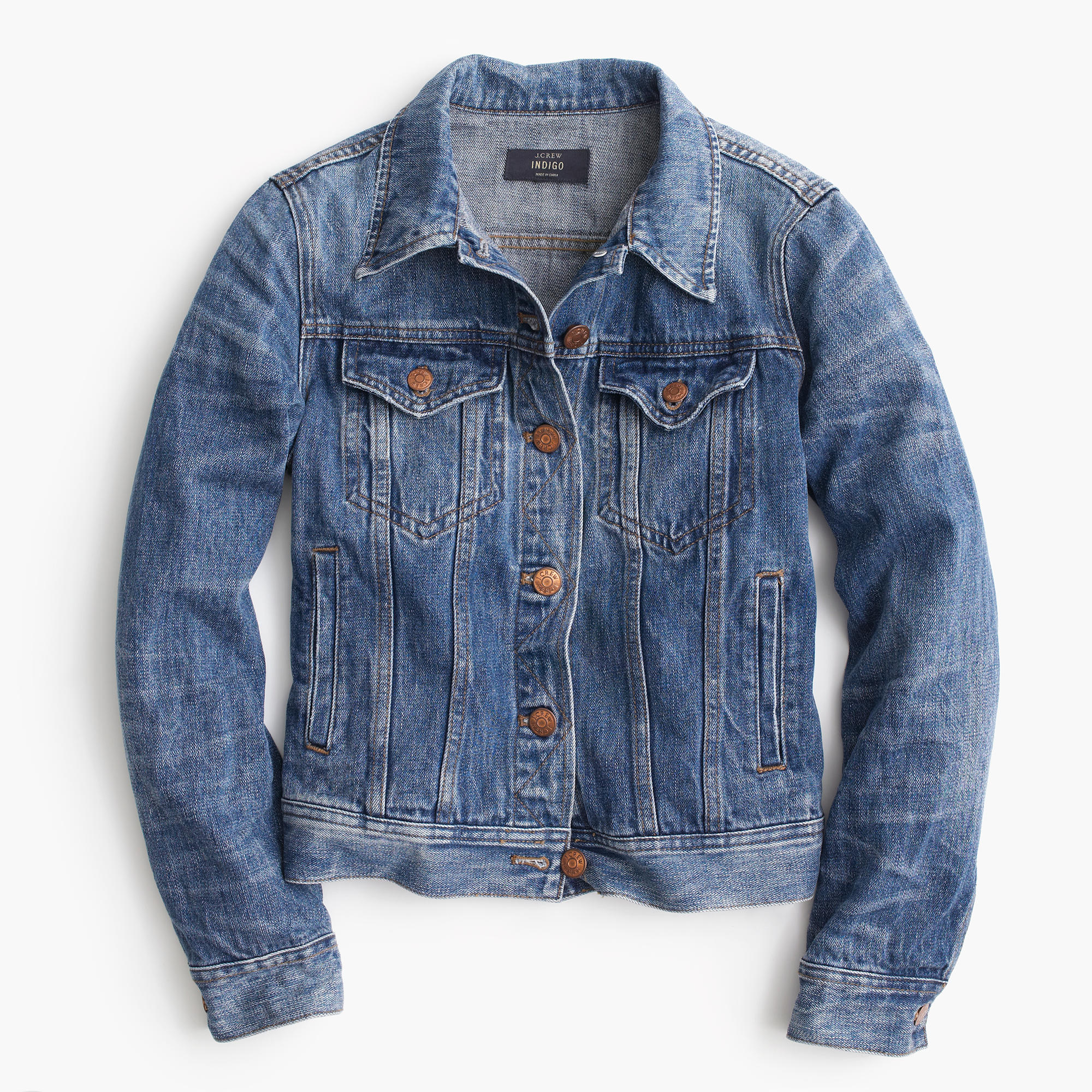 Denim Jacket In Tyler Wash : Women's Coats & Jackets | J.Crew