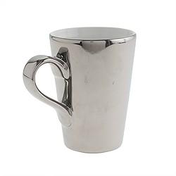 Metallic latte mug
