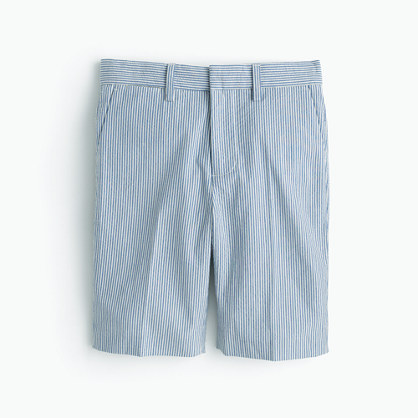 Boys' Ludlow short in seersucker